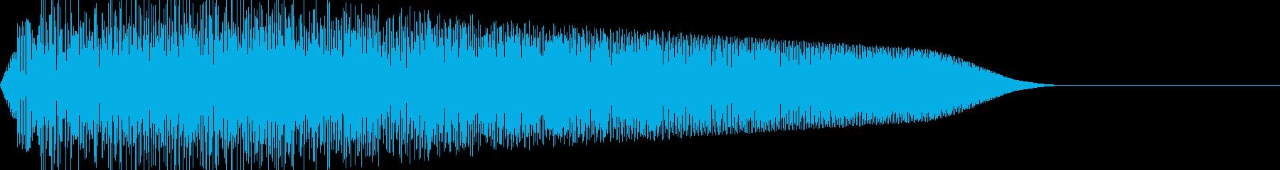 ビューン(移動ワープ/宇宙ファミコンSFの再生済みの波形