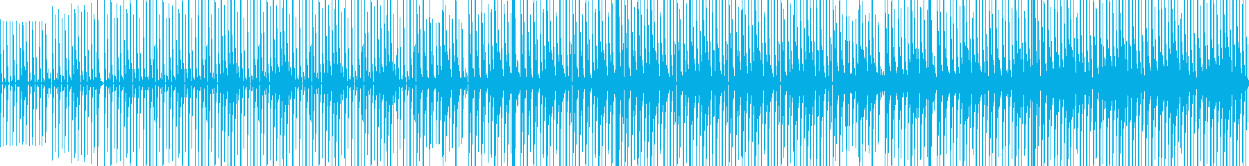 少し怪しげな雰囲気なエスニックなBGMの再生済みの波形