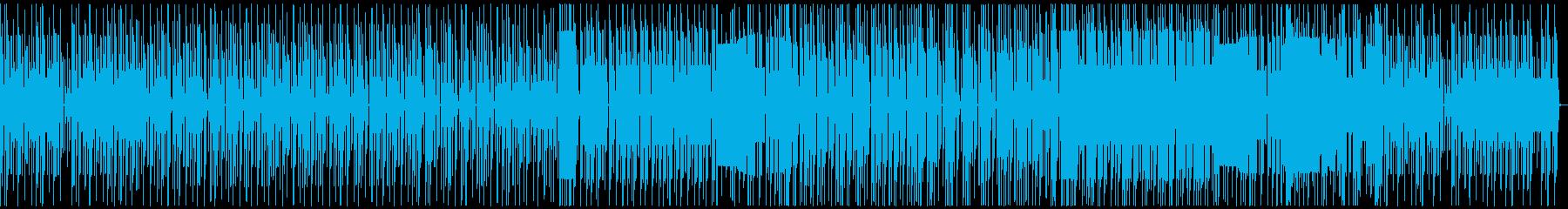 FC風 未来への再生済みの波形