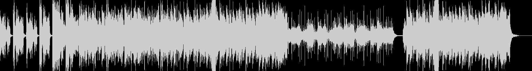 ほのぼのした弦楽器メロディーの音楽の未再生の波形
