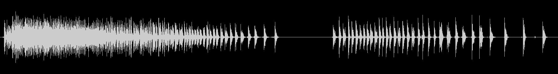 スピニングホイール、ラトル、アミュ...の未再生の波形
