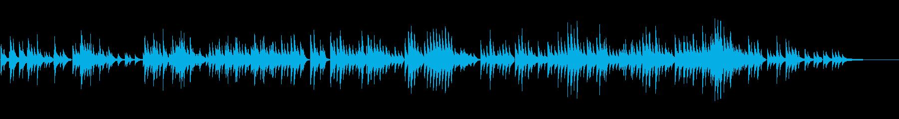 生ピアノソロ・雄大な自然の再生済みの波形