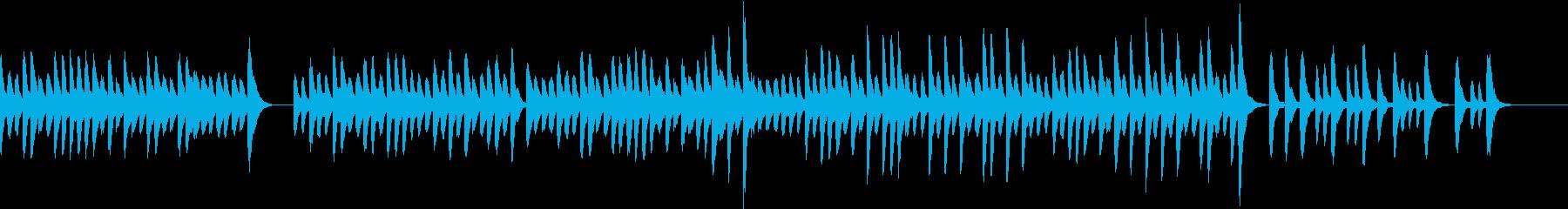 さみしいような切ないマリンバの旋律の再生済みの波形