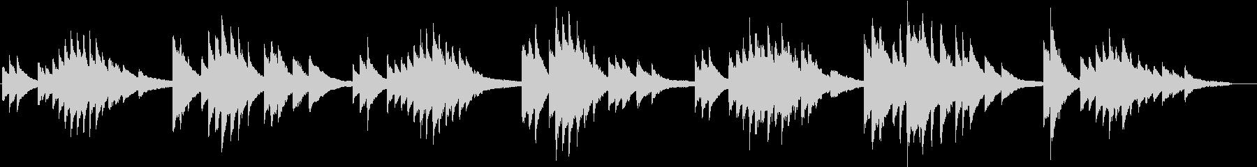 赤とんぼ(ピアノカバー)の未再生の波形