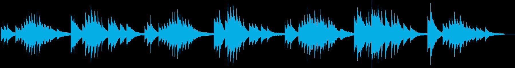 赤とんぼ(ピアノカバー)の再生済みの波形
