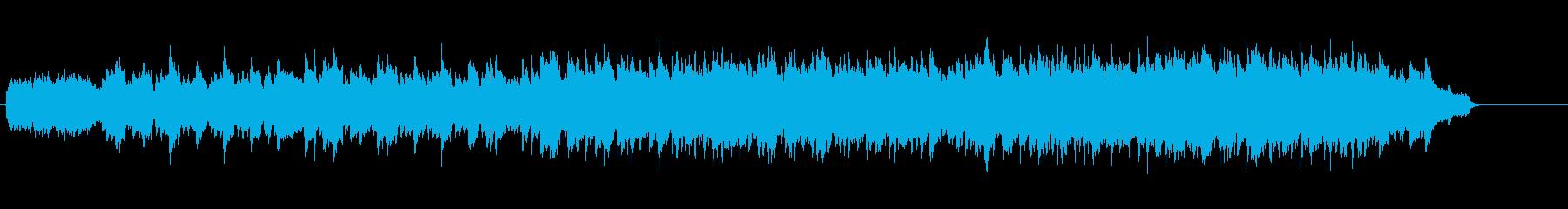 ヨーロピアンテイストの叙情的バラードの再生済みの波形