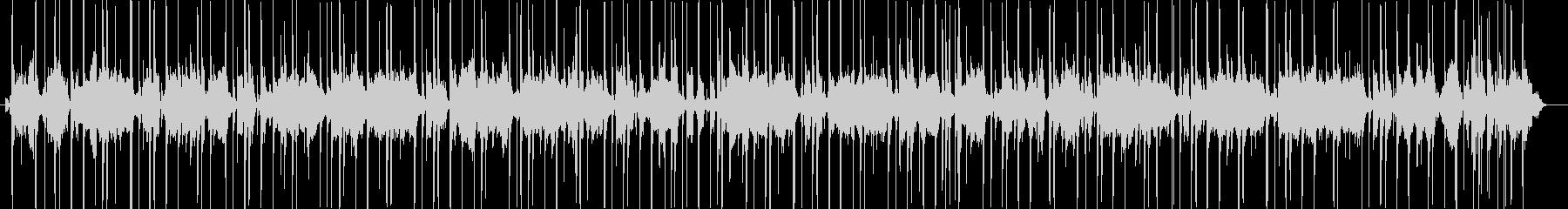 ファンキーなワウのスラップベースの未再生の波形