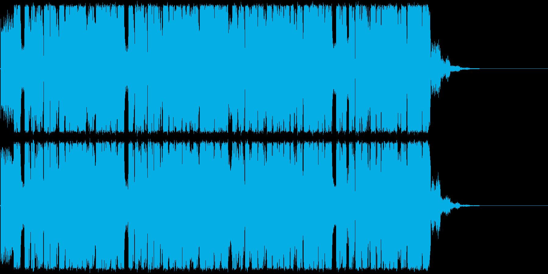 glich hop かっこいいジングルの再生済みの波形