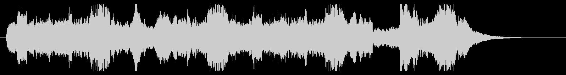 場面転換用ジングル1の未再生の波形