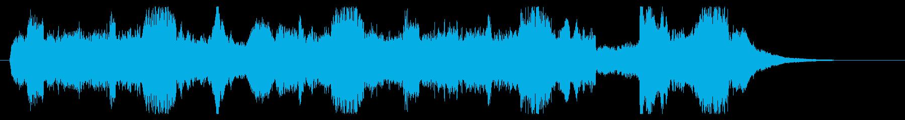 場面転換用ジングル1の再生済みの波形