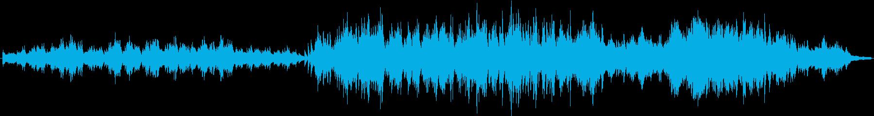 メランコリックなボサノヴァ調のピアノ曲の再生済みの波形