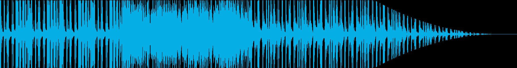 エモくてクールで都会的な音楽の再生済みの波形