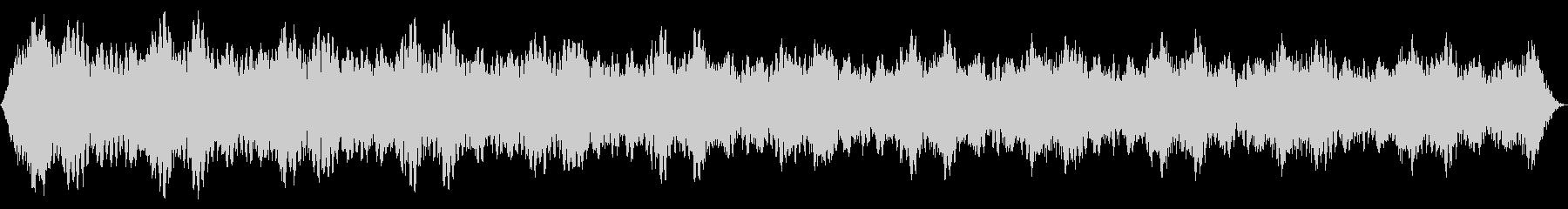 ソフトパルスシンセドローンの未再生の波形