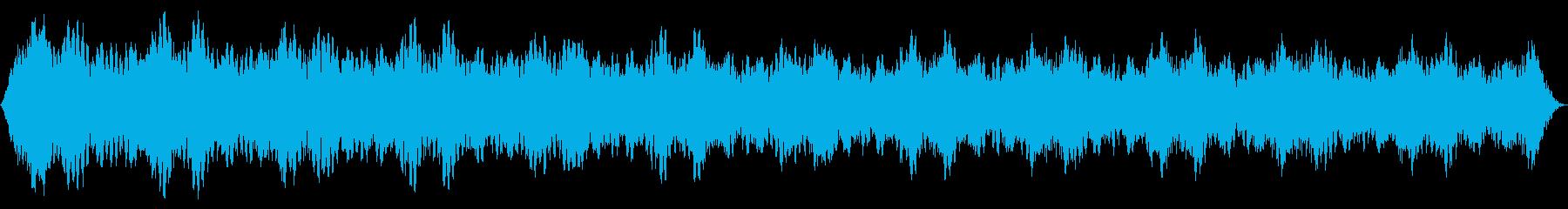ソフトパルスシンセドローンの再生済みの波形