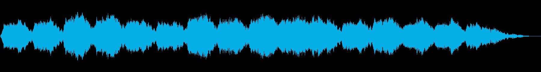 アンビエントミュージック 淡々 瞑...の再生済みの波形