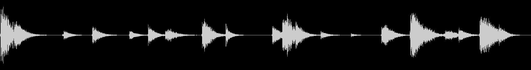 拷問ドリップ4の未再生の波形
