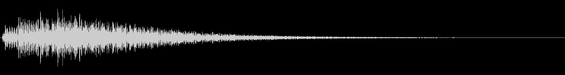 操作音 シンセサイザー ジャラーンの未再生の波形