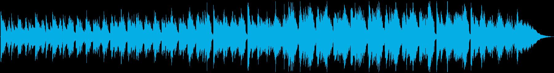 エレピメインのゆったりソウルバラード風の再生済みの波形