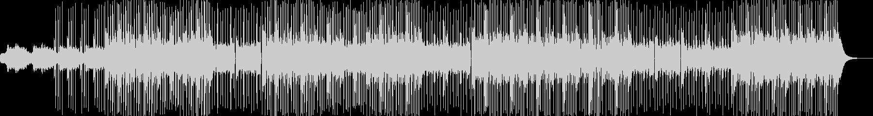 静かなスローテンポのポップスの未再生の波形