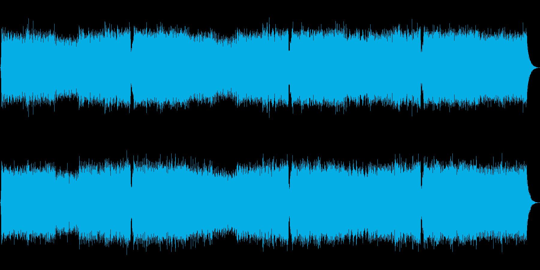 生尺八!激しくカッコいい和風EDMロックの再生済みの波形