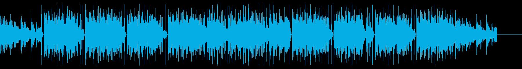 優しいメロディのまどろむ様なヒップホップの再生済みの波形