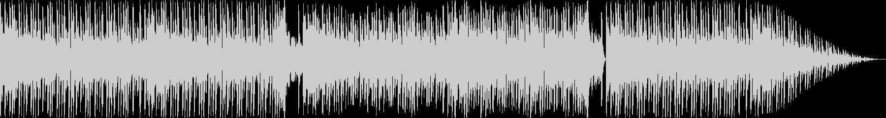 和のテイストを用いたエレクトロBGMの未再生の波形