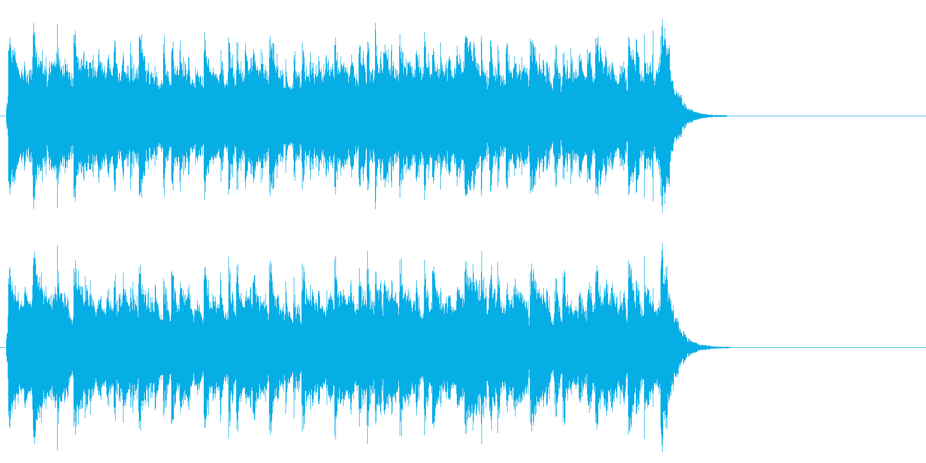 優雅で穏やかポップ(サビ)の再生済みの波形