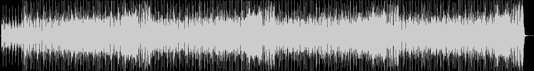 ファンク系BGM。ループ。の未再生の波形