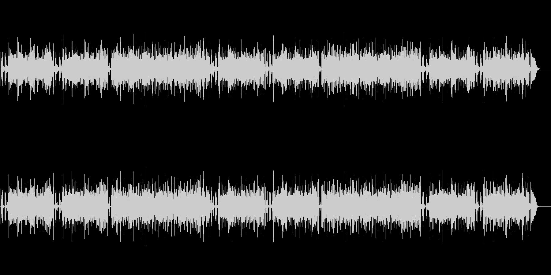 ヨーロピアン風ピアノ・バラードの未再生の波形