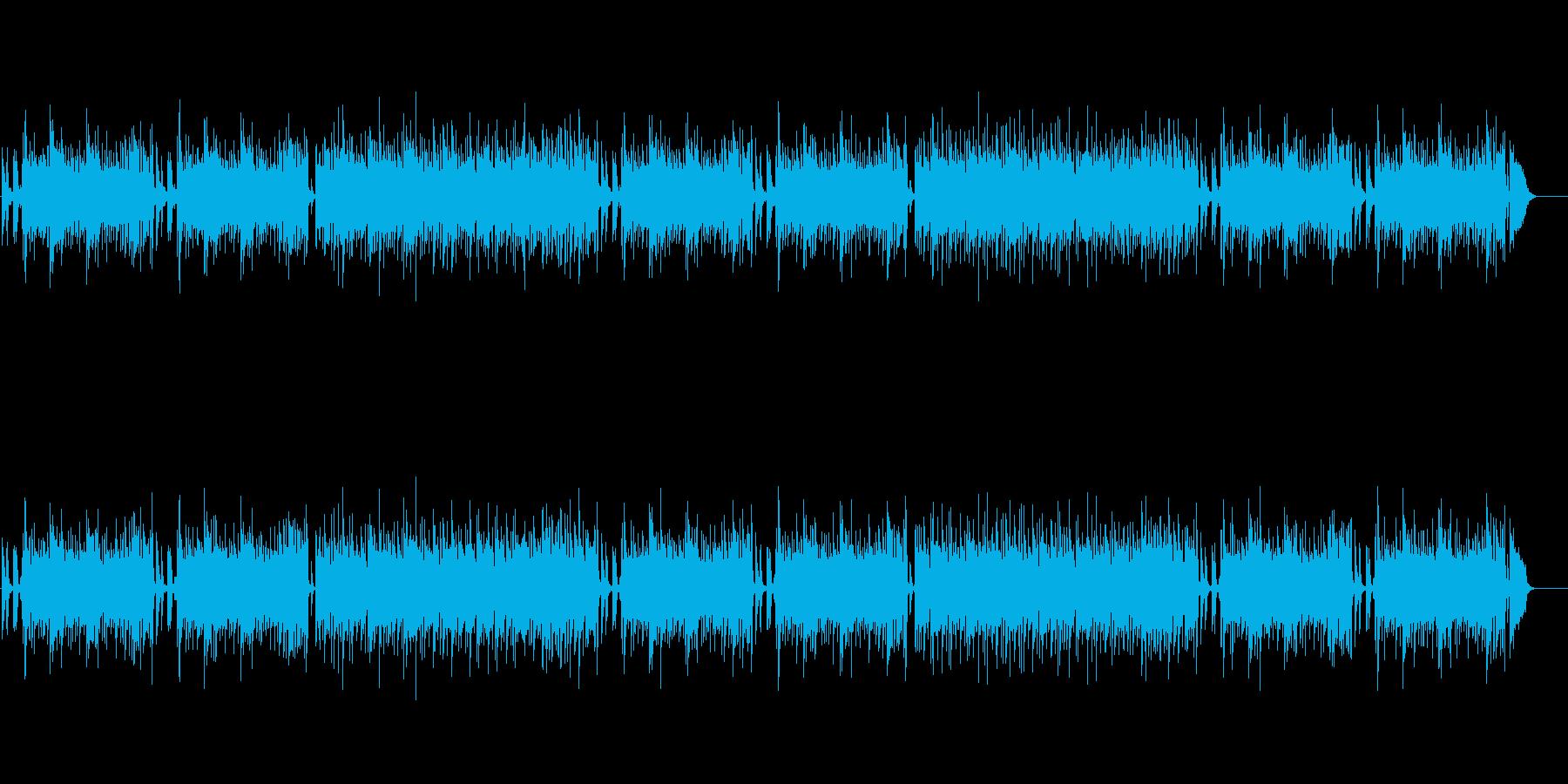 ヨーロピアン風ピアノ・バラードの再生済みの波形