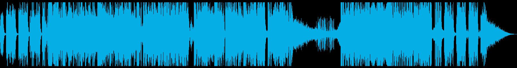 トラップ ヒップホップ 野生 ファ...の再生済みの波形