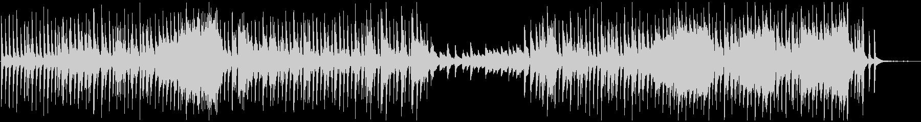 日常的なポップスの未再生の波形