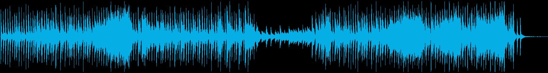 日常的なポップスの再生済みの波形
