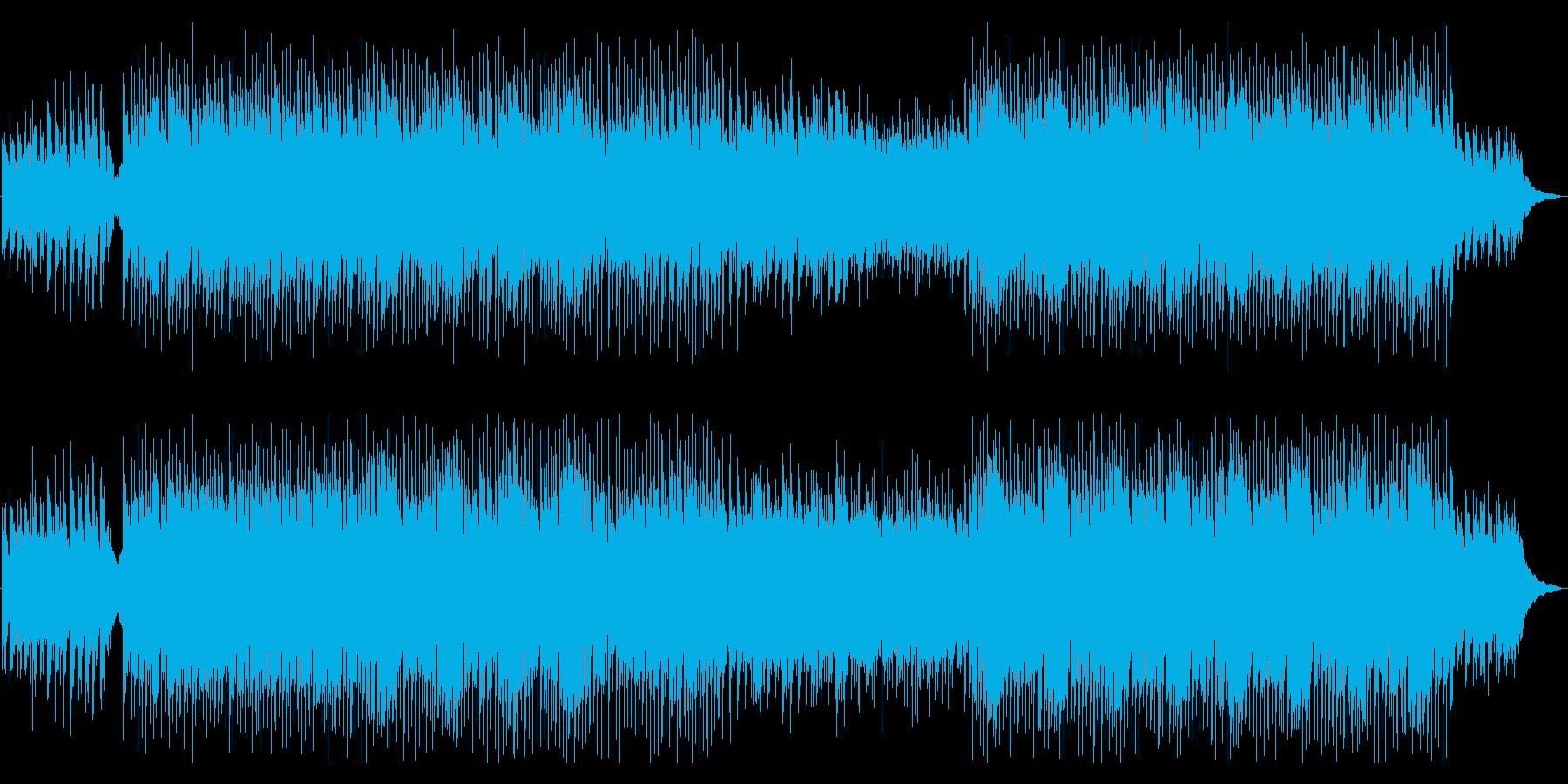 生演奏ギター おしゃれかっこいい生音系の再生済みの波形