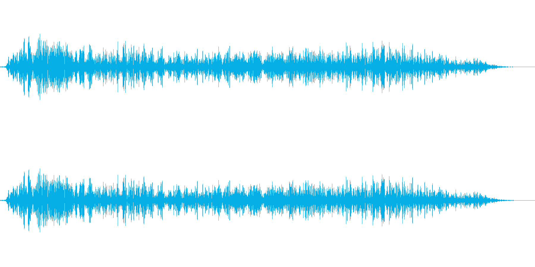 モンスター ガルルル 01の再生済みの波形
