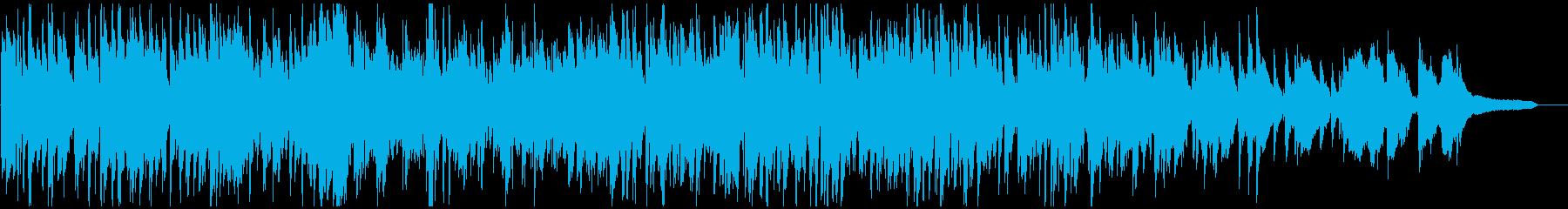 紳士的なサックスの音色が気持ち良いジャズの再生済みの波形