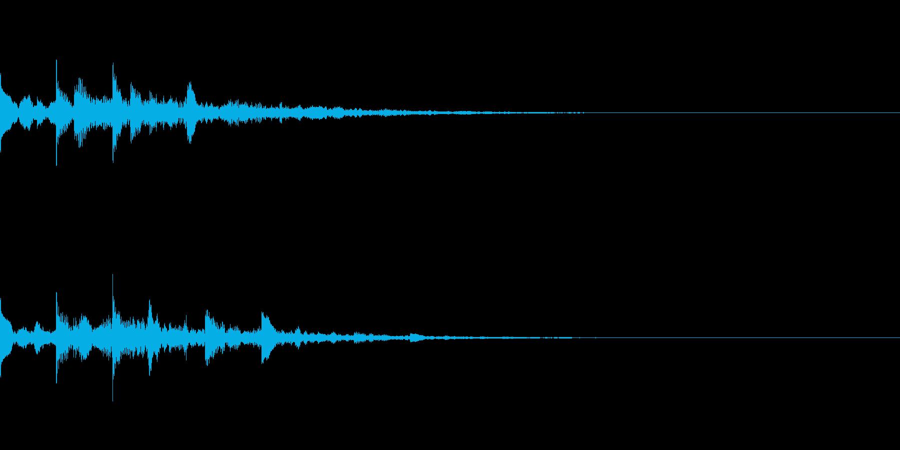 ニュース・お知らせ4の再生済みの波形