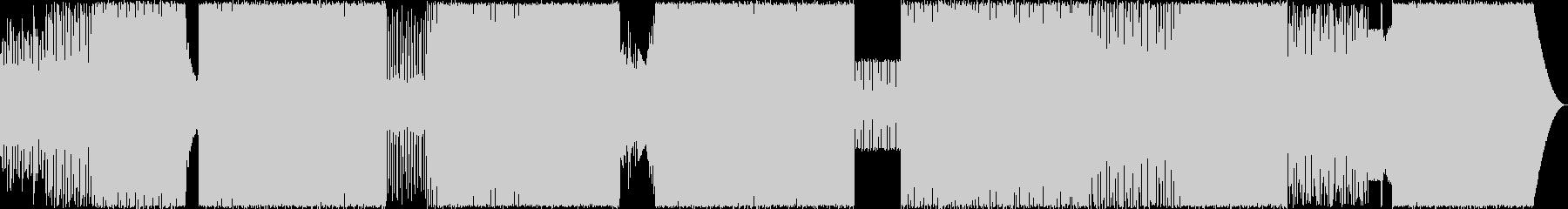 エキサイティングなEDMの未再生の波形