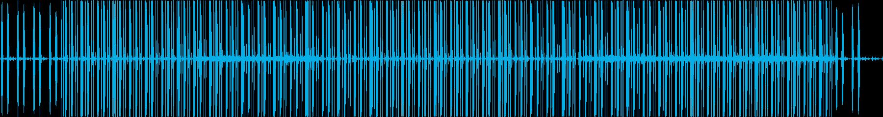 スタイリッシュ/カフェ/ヒップホップの再生済みの波形