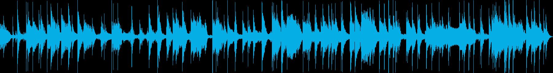 メタルクランクインパクト、チャイム...の再生済みの波形