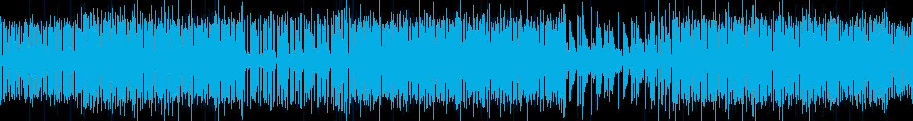 ご機嫌なキーボドソロが印象的なFUNK風の再生済みの波形