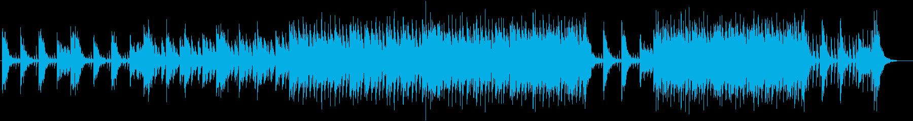 疾走感のあるシネマティックドラムの再生済みの波形