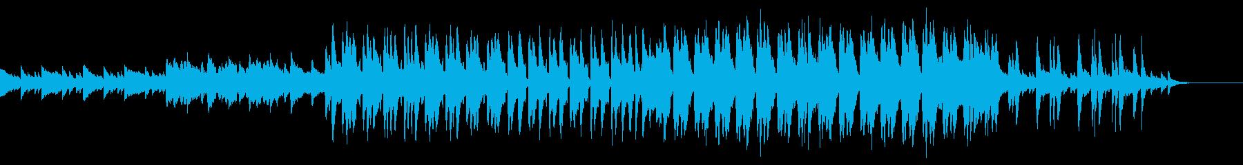 民族音楽風でファンタジーな世界観の再生済みの波形