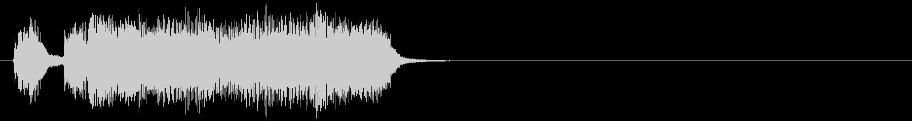 汎用11 テッテレーの未再生の波形