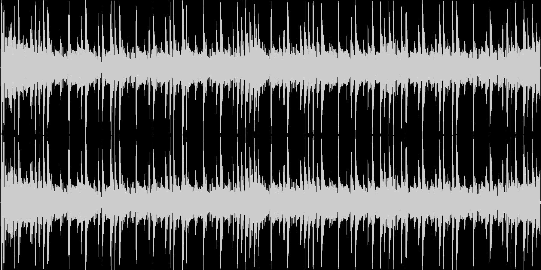 リズミックなイメージをした楽曲です。の未再生の波形