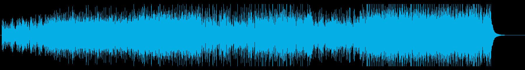 ジングルベル ライトなテクノの再生済みの波形