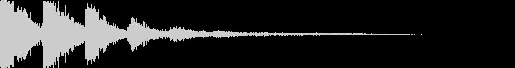 スネア:衝撃音・迫力・インパクトgの未再生の波形
