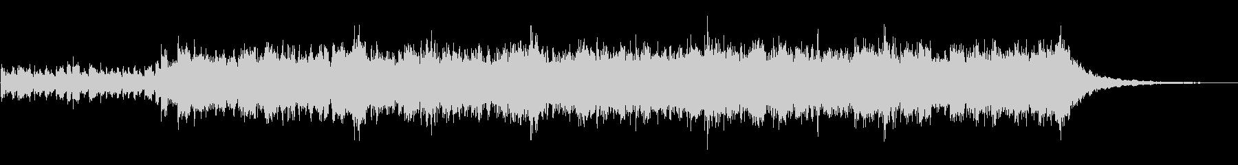 アフリカンな小曲の未再生の波形