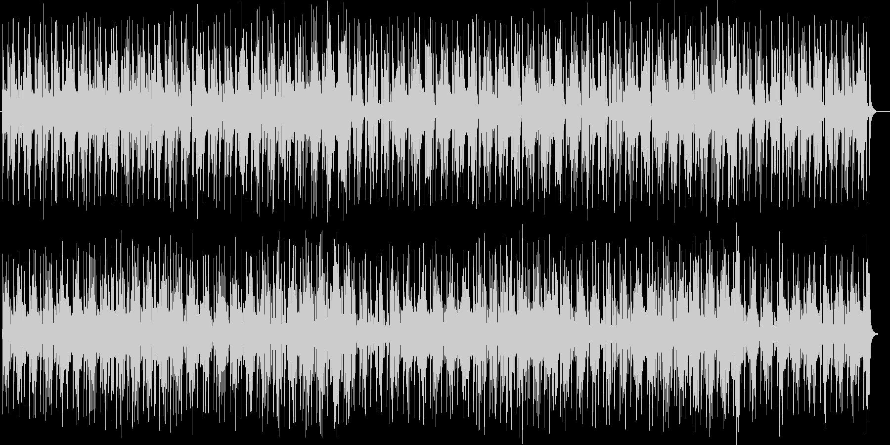 宇宙的なシンセサイザーサウンドの未再生の波形