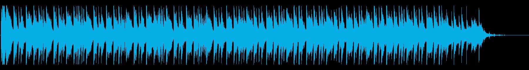 『ニュースに使いたい』エレクトロ風ビートの再生済みの波形